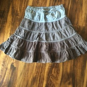 Children's Place Micro Cord Skirt 6X-7